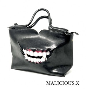 vampire shoulder & handbag(本革)