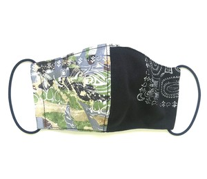 【COTEMER マスク 日本製】 MILITARY × PRINT MASK M0425018