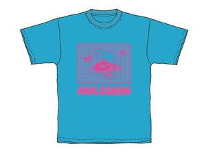 アナログマンTシャツ 2018 ブルー