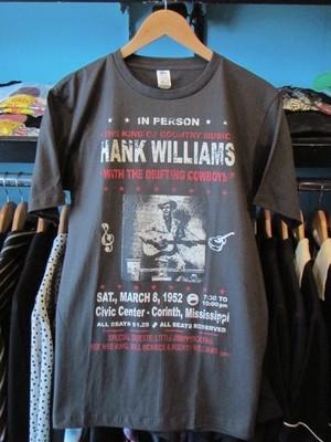 S/STシャツ HANK WILLIAMS