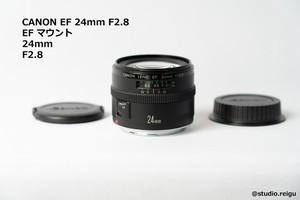 CANON EF 24mm F2.8 キヤノン