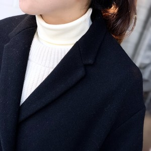 Rib/Turtleneck/IVORY