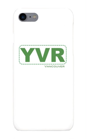 【iPhone7】YVR *Vancouver Int'l Airport phone case 【スマホケース】