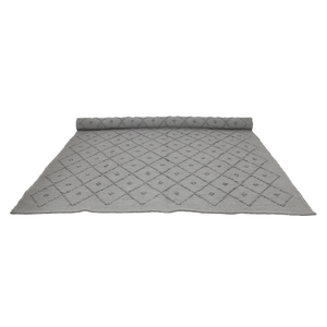 naco DIAMOND WOVEN RUG  LIGHT GREY