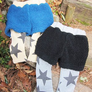 pony go round boa fleece spats shorts