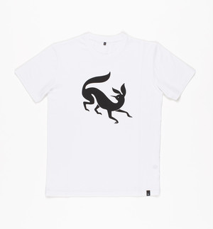 by Parra - t-shirt confused fox (White)