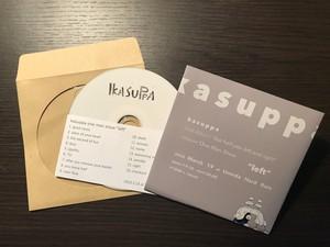 """支援音源#1  kasuppa one man show """"left""""  CD-R"""