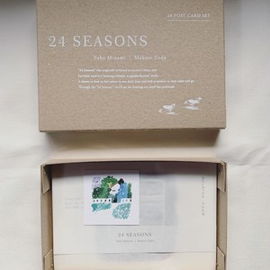 24seasons postcard set