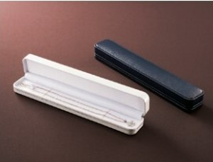 レザー調ネックレス・ブレスレット用ケース 10個入り CS-15-NB-L