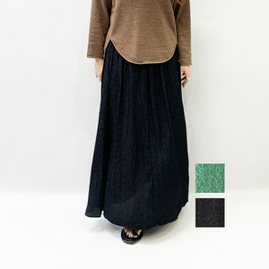 OUTERSUNSET(アウターサンセット) gathered flare skirt 2020春物新作