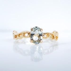 《Candy series》Green quartz ring