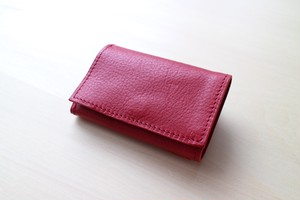 PLAY WALLET - ARIZONA LEATHER[RED]