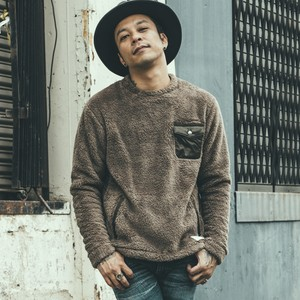CRIMIE / C1G5-CS08	BOA FLEECE MIX CREW NECK
