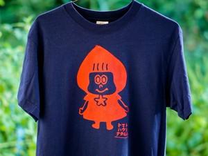 トマずきんちゃんTシャツ(オーガニックコットン)☆S~Lサイズ☆オーダー商品☆手刷りTシャツ