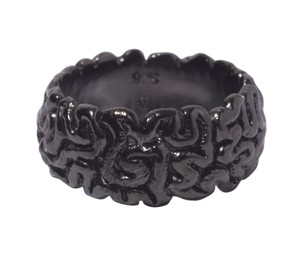 Brain-Ring(M)Black Coating