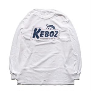 KBC L/S TEE【WHITE】