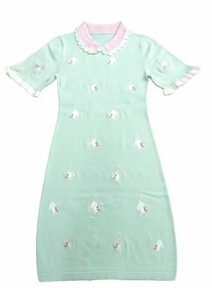 CAT KNIT DRESS キャット ニット ドレス
