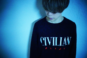 CIVILIAN ロゴトレーナー