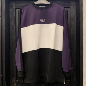FILA : TRICOLORE SWEAT CREW NECK
