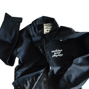 P01(PLAY DESIGN)  NOSTRESS JACKET / URBAN BLACK