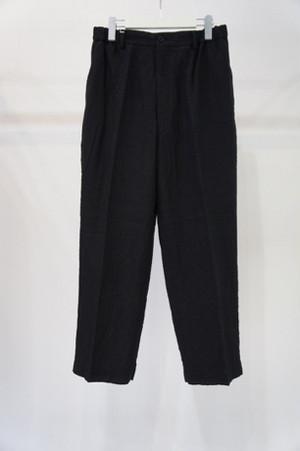 Classic Trousers -BLACK- / YOKO SAKAMOTO