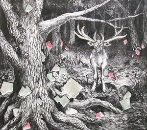 光る森に尋ね人