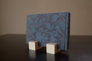 プリント手漉き紙表紙のalbum blue L判