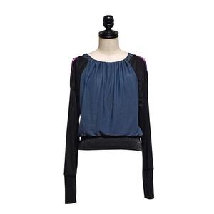 koll / shoulder hooded top / Black