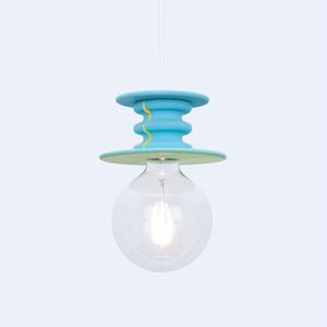 ブルーグリーンペンダントランプ Frutti Lamp