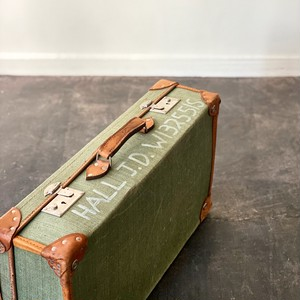 Vintage British Army Travel Trunk