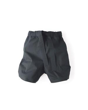 パンツ2号「洗い綿」黒