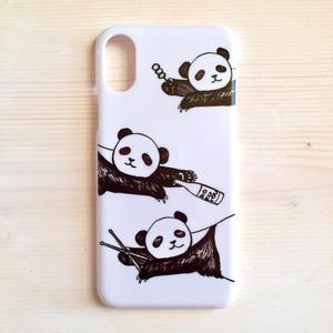 oyasumi panda『trio?』iPhoneケース X/XS/6/6s/7/8/5/5s/SE/5c