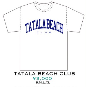 TATALA BEACH CLUB -white-