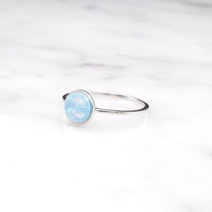 S925 OPAL RING SILVER
