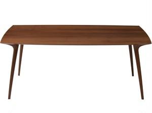 Calm ダイニングテーブル ウォールナット材 160cm