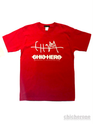 【CHIC HERO】OWL T/S RED