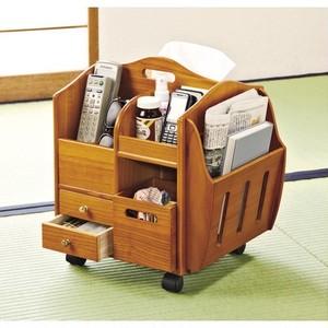 テーブルまわりの便利ワゴン リビング 和室 書斎 寝室 身の回り 整理整頓