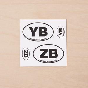 ZB x YB sticker