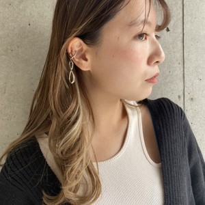 e009_ear cuff (ニッケルフリー)