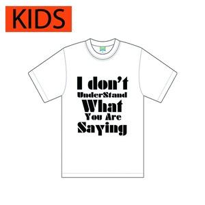 idon't Tシャツ(キッズ)
