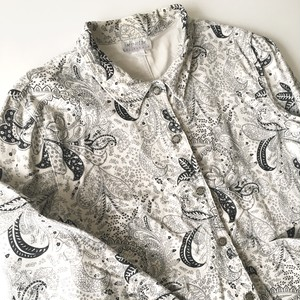 impulse CALIFORNIA : paisley pattern corduroy jacket (used)