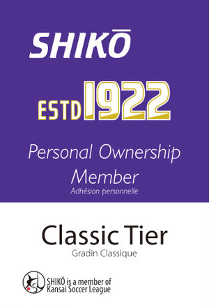 "SHIKŌ Personal Ownership ""ESTD1922"" Worldwide Member"