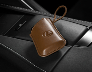 Lexus LS/LC/ES/UX Smart Access Key Glove - Brown