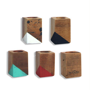 <In Stock>  Reclaimed Tiny Pod  set of 5