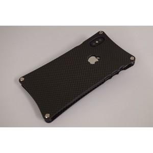 iPhoneX用カーボンケース