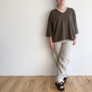 ironari  △Tee  col.カーキ/ブラック