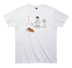 《和田ラヂヲTシャツ》TW015/ セミがでかい