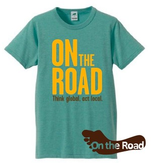 On the Road Tシャツ《グリーン》