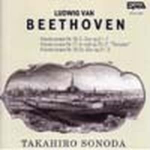 HTCA-1007 Beethoven Sonatas Op.31-1 31-3(Piano/T. Sonoda /CD)