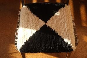 ◆◆ノッティング◆◆手織りの椅子敷き◆◆(大サイズ) NEW! d.